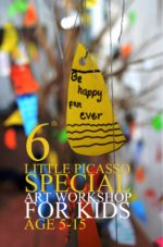 LITTLE PICASSO: A Special Art Workshop for Children (Volume 6)