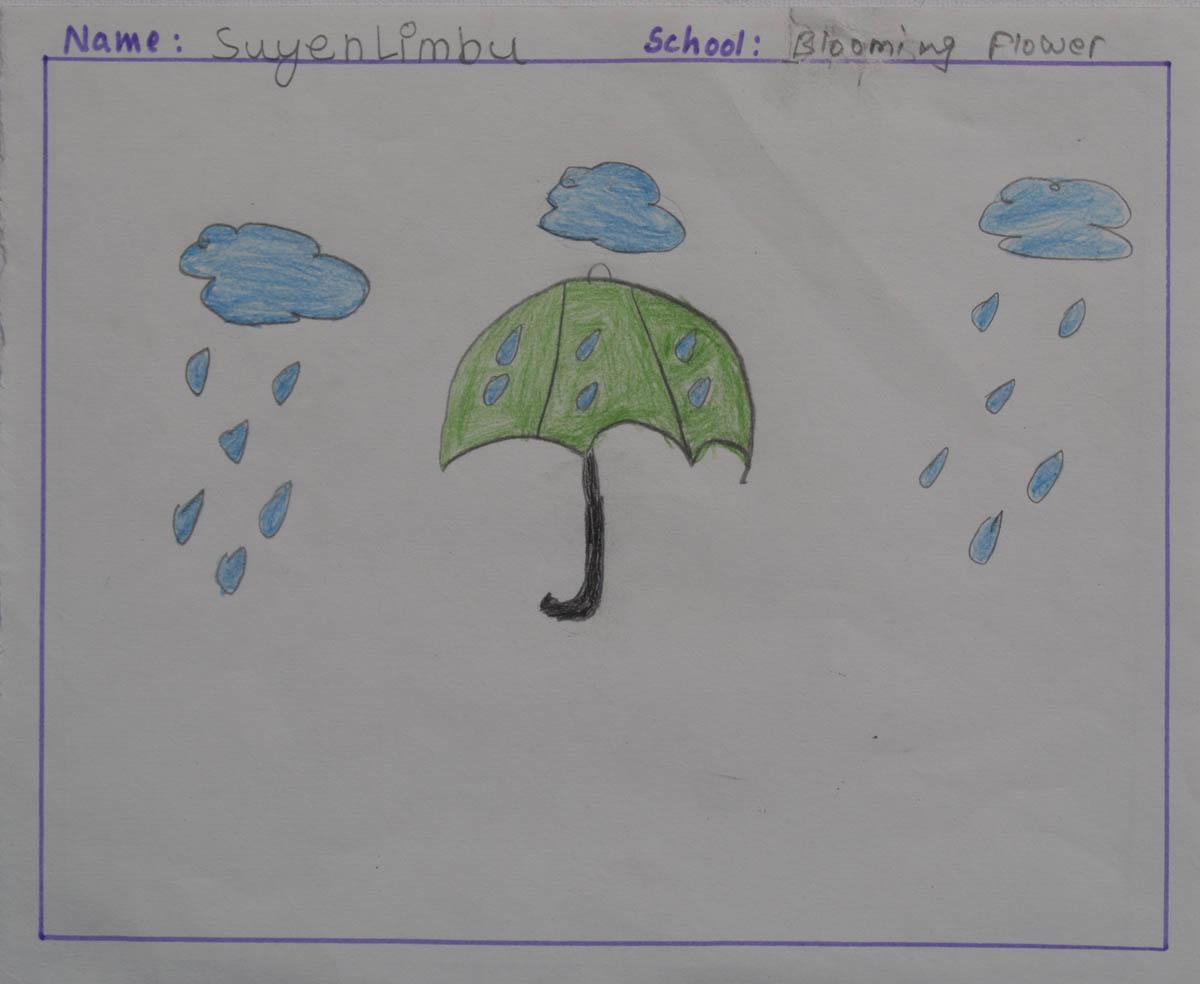 Little Artist: KritikaThapa Title: Age: 10 Class : School: Shree Jana Jyoti H. S. School, Putalikat Gairimudi, Dolakha Date Created: 2016 Father: Mother: