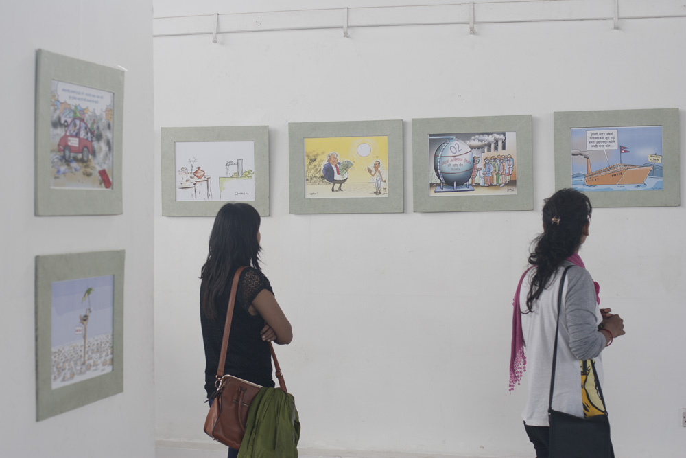 Cartoon Exhibition on C+C Awareness