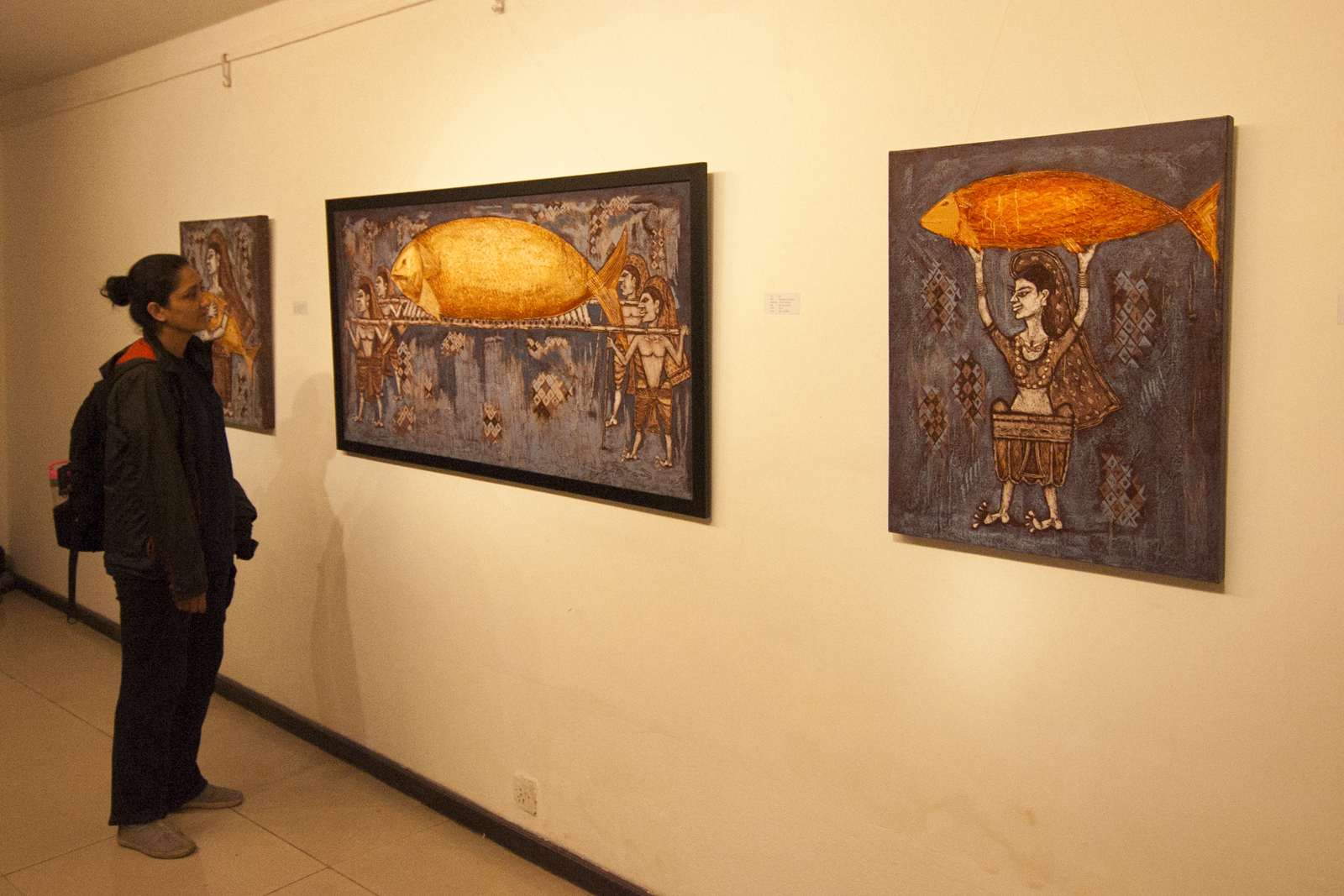 Invention in Tradition by Umesh Shah at Siddhartha Art Gallery.