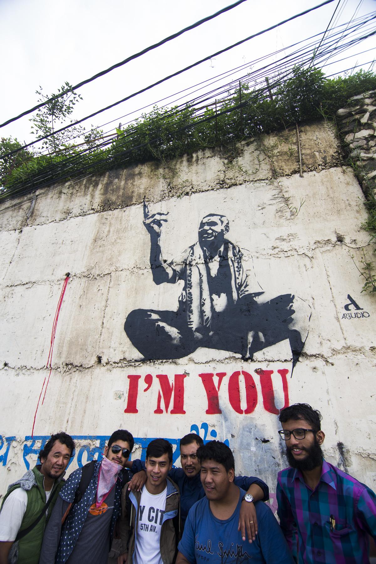 Artudio_I'M YOU_Street Art-Babarmahal (2)