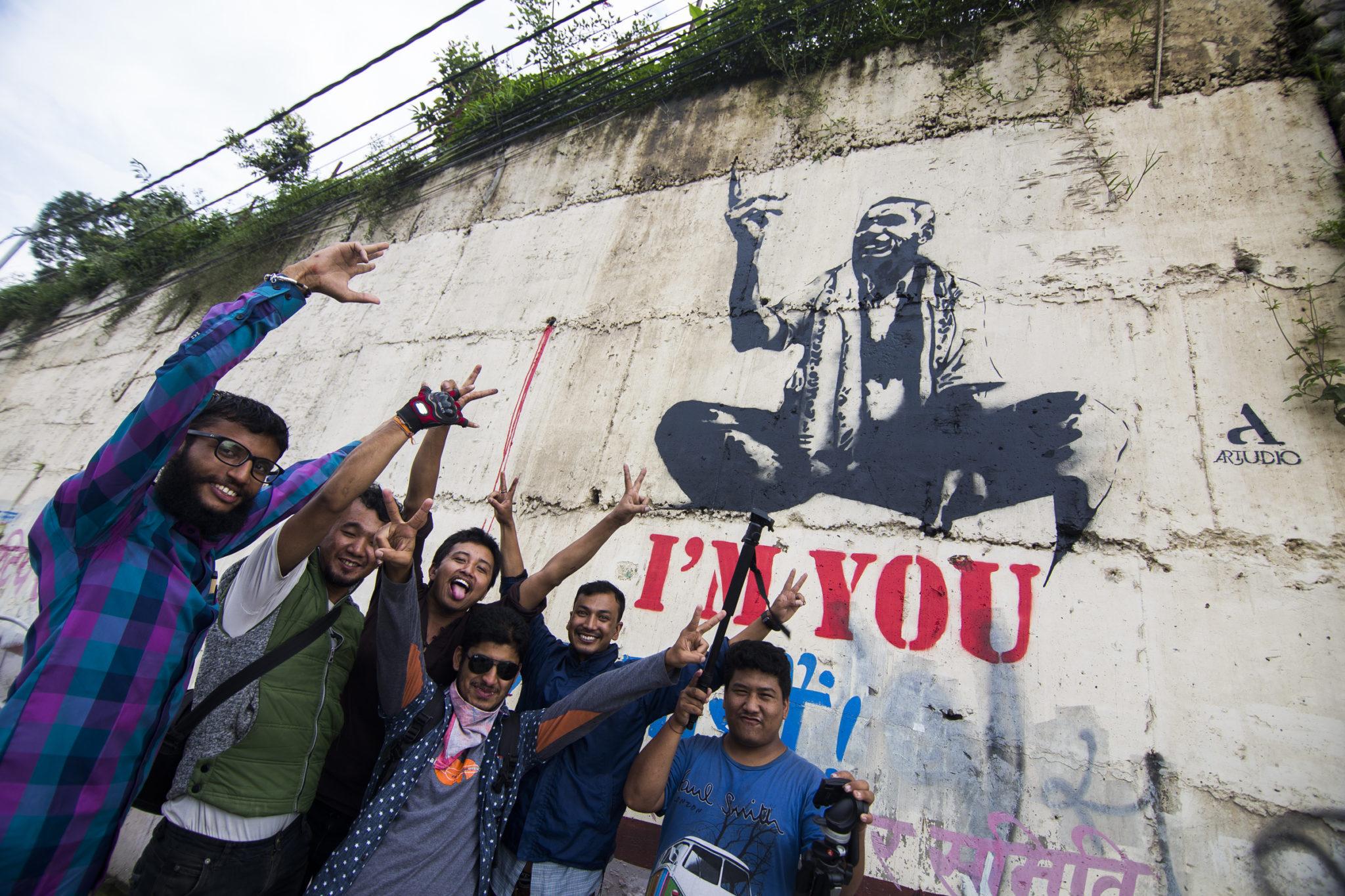 Artudio_I'M YOU_Street Art-Babarmahal (5)